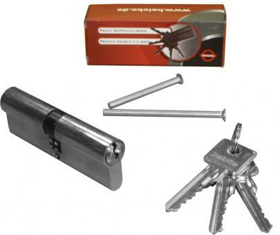 heicko Profilzylinder, 6-Stift-System, 3 Schlüssel, Not- und Gefahrenfunktion 35x40 (1 ST) 35 x 40 mm | mit Not- und Gefahrenfunktion