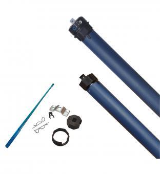 Rollladenmotor/Rollladenantrieb, 13 Nm, max. 29 kg, für 40 mm 8-Kantwelle, mechanische Endschalter (1 ST)