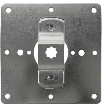 Fertigkastenlager für Rohrmotoren mit 10 mm Vierkant, für Kömmerling/Veka (1 ST)