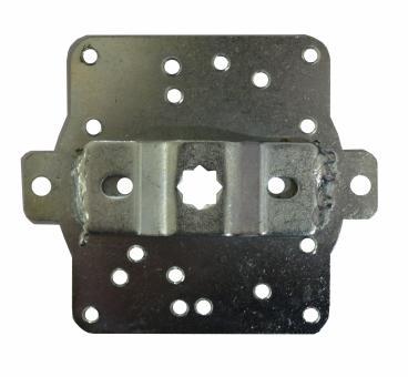 Fertigkastenlager für Rohrmotoren mit 10 mm Vierkant, für SKS (1 ST)