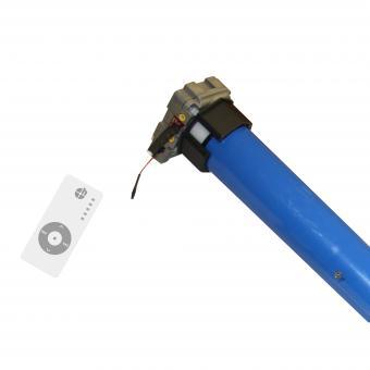 Markisenmotor-Set mit Notkurbelfunktion und Funk, inkl. 5-Kanal Handfunksender (1 ST) Motor + 5-Kanal Sender   78 mm, Rund; 60 mm, 8-Kant   50 Nm