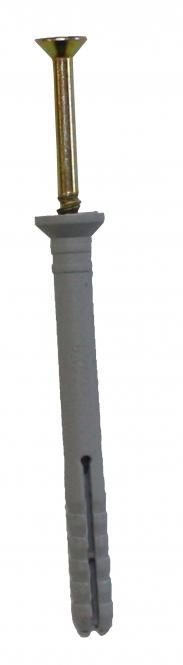 Nageldübel, Kreuzschlitz PZ2, Senkkopf, mit Schlagschutz-, Überdreh- und Einschlagsicherung 6x40 (200 ST)