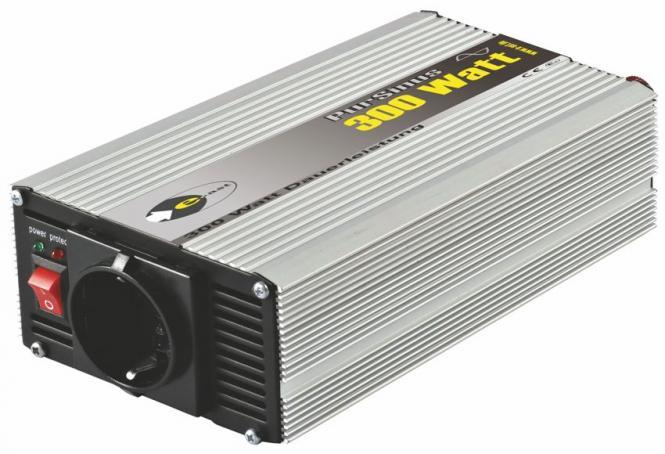 Sinus-Wechselrichter 24 V DC/230 V AC 50 Hz- 600 Watt kurzfristige Spitzenleistung 300 W