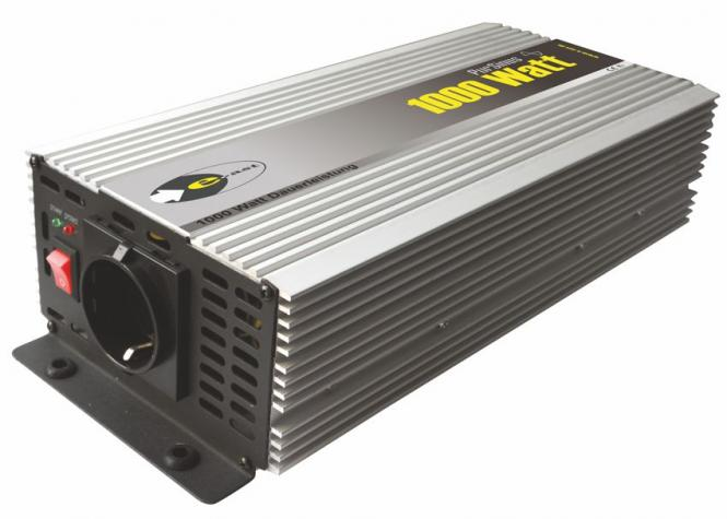 Sinus-Wechselrichter 12 V DC/230 V AC 50 Hz- 2000 Watt kurzfristige Spitzenleistung 1000 W