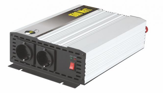 Sinus-Wechselrichter 12 V DC/230 V AC 50 Hz- 3000 Watt kurzfristige Spitzenleistung 1500 W