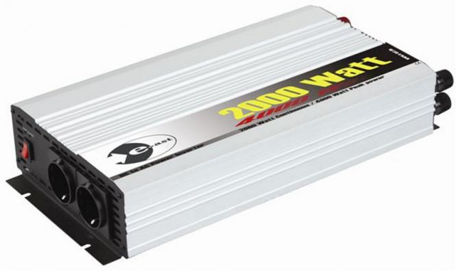 Wechselrichter 12 V DC/230 V AC 50 Hz - 4.000 Watt kurzfristige Spitzenleistung 2000 W