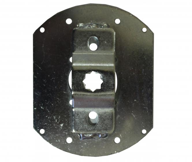 Fertigkastenlager für Rohrmotoren mit 10 mm Vierkant, für Inoutic
