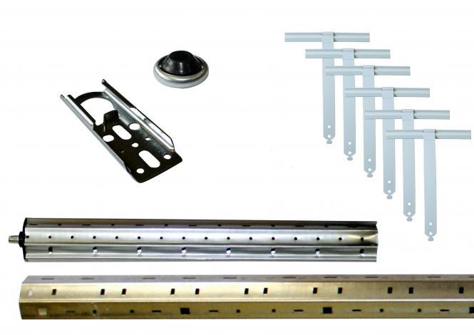 Rollladenwellen-Paket, SW60, bis 2000 mm, für Alt- und Neubau