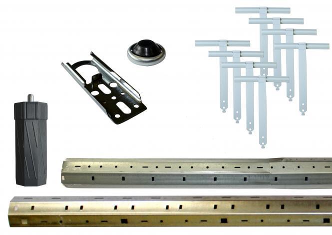 Rollladenwellen-Paket, SW60, bis 3000 mm, für Alt- und Neubau