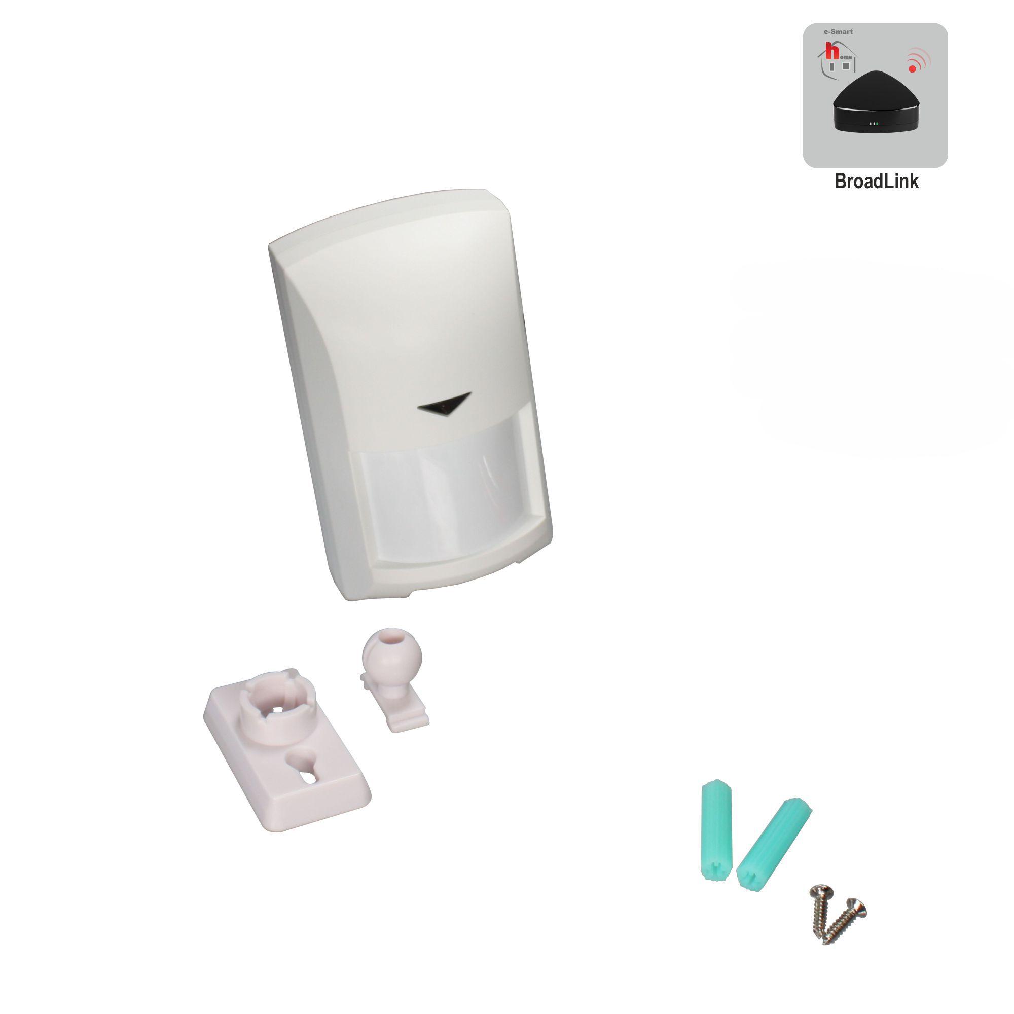 heicko schraubenvertriebs gmbh e smart home motion sensor 110x62x47mm. Black Bedroom Furniture Sets. Home Design Ideas