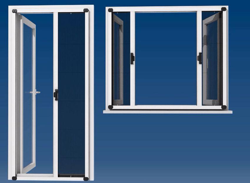 plissee fliegengitter system bausatz. Black Bedroom Furniture Sets. Home Design Ideas